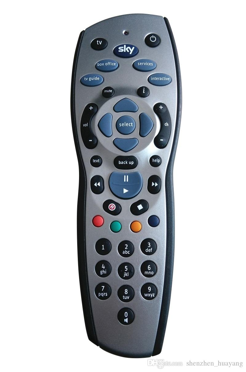 100 adet / grup Yüksek Kalite Evrensel TV Televizyon Değiştirme Uzaktan Kumanda Kontrolörü Gökyüzü + HD Rev9 Sky HD Gümüş + Siyah ücretsiz kargo