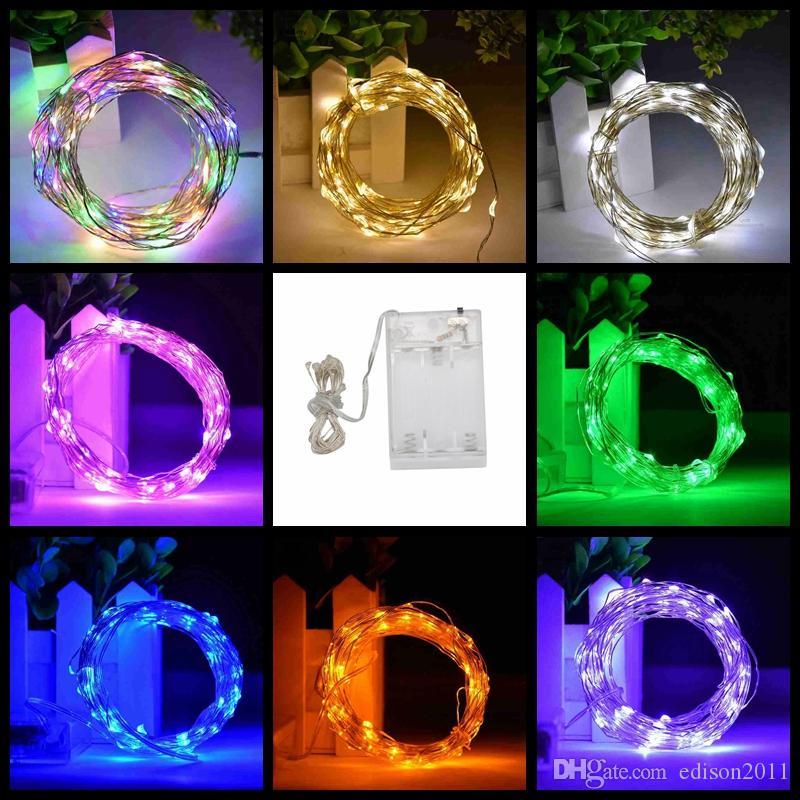 3M 30led 3 AA Pil Güçlendirilmiş Dekorasyon LED Bakır Telli Periyodik Işık Lambaları Noel Küpeleri için Led Para Navidad