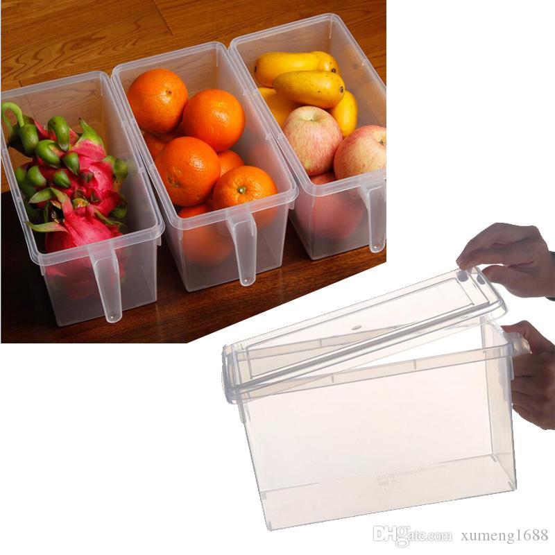 علبة صندوق تخزين الثلاجة - علبة طعام حامل بلاستيك للدجاج - علبة صندوق تخزين مع حاويات طعام محكمة الغلق