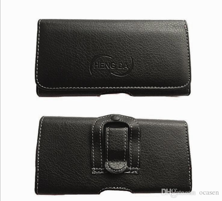 محفظة عالمية PU جلدية أفقي الحافظة غطاء الحقيبة مع حزام كليب للحصول على اي فون 11 برو ماكس XR 8 سامسونج هواوي الدراجات النارية و الدراجات LG