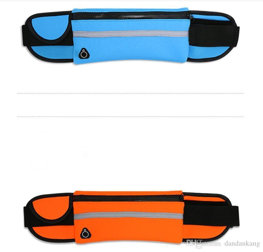 ماء الخصر حقيبة في الهواء الطلق رياضة الجري فاني حزمة الحقيبة الماء حالة الهاتف مقاومة للحصول على X 8 7 6 زائد