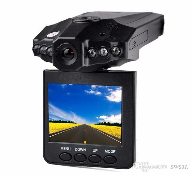 """Лучшие продажи 2.5"""" автомобиль тире камеры автомобильный видеорегистратор рекордер камеры система черный ящик H198 ночь версия видеорегистратор тире камеры 10 шт."""