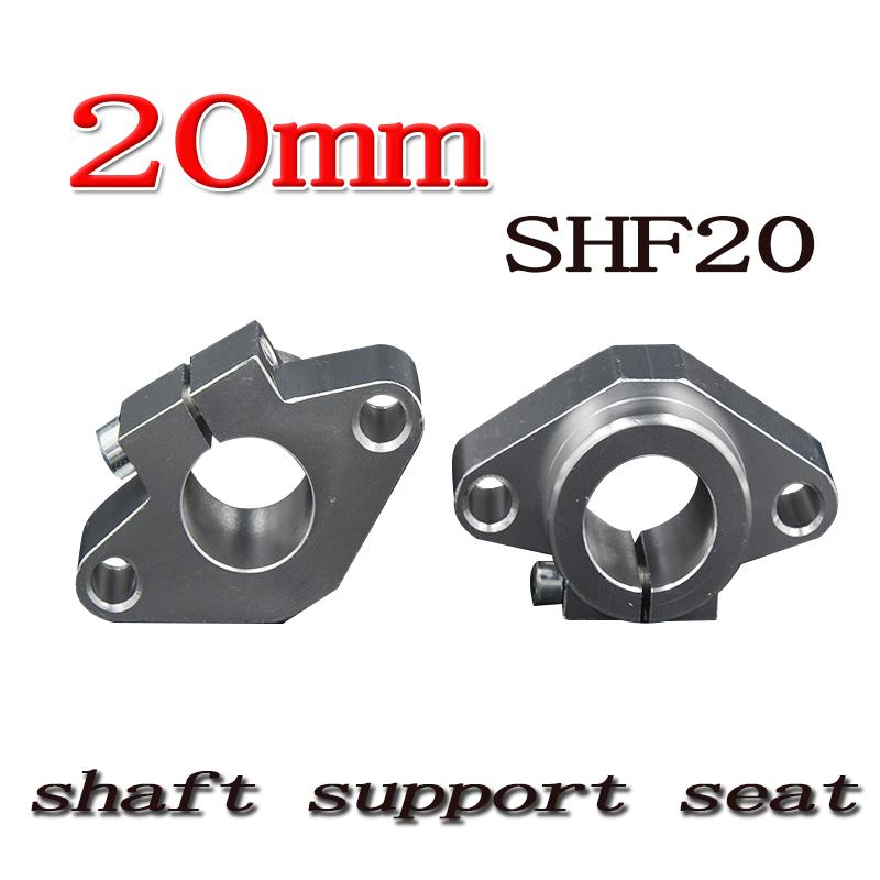 50pcs SHF20 20mm Linear Rail Shaft Support XYZ Table CNC SHF Series Rail Shaft