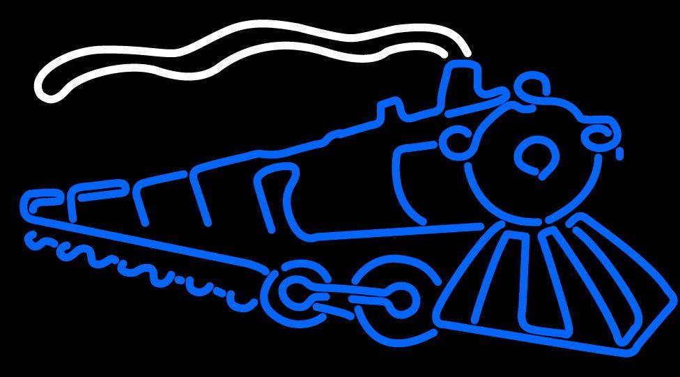 Lokomotive Neon Sign 16x16 Neon Sign Light Bier LIGHT Liebe NEON nach Hause führte