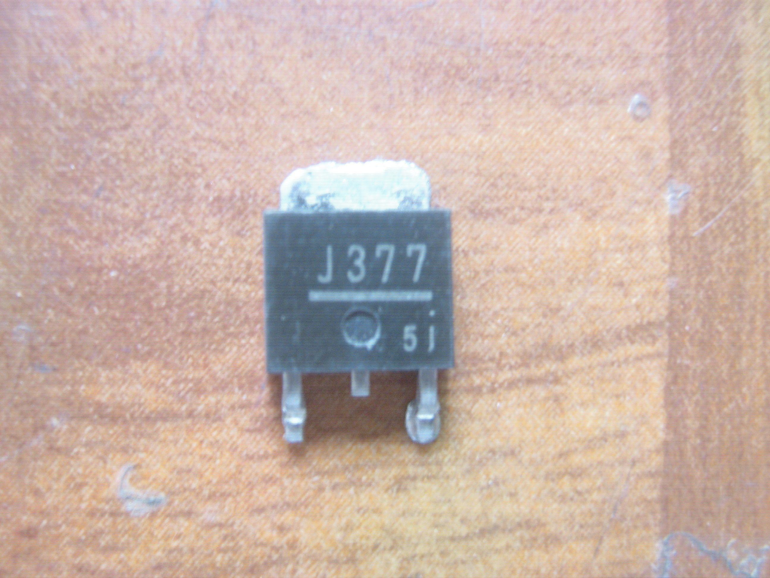 Transistor de Efeito de campo Usado original MOSFET 2SJ377 J377 a 252 Teste OK