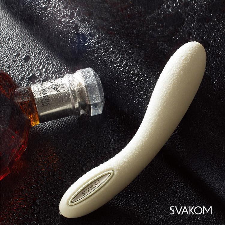 SVAKOM LESLIE Vibrador calefactor, Vibrador recargable resistente al agua del punto G de larga duración, Juguetes sexuales eróticos para mujer, Productos sexuales 0701