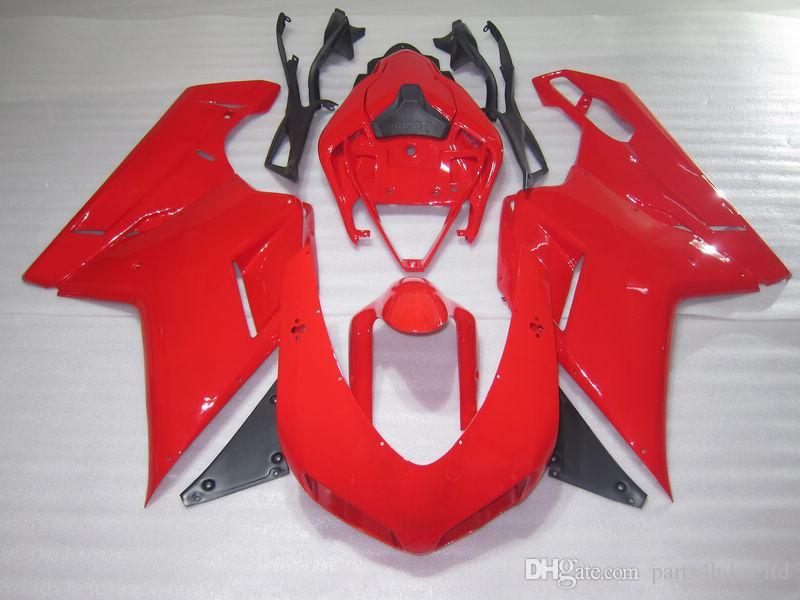 Nieuw Hot voor Ducati Gloednieuwe Carrosserie Body Cover 848 1098 1198 (07-08) 1098S 1198S 2007 2008