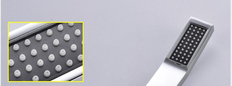 hm Bathroom Shower Head with 4 Ways SUS304 20inch Rain & Mist & Brass Slide Bar & Brass Spout & Brass Handheld Shower Set (22)