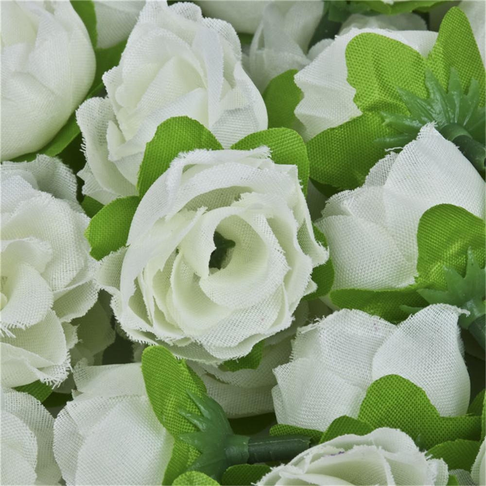 Gros-Automne 100 pcs roses simulation fleurs soie rose décoratif Fleurs décorations pour la maison pour le mariage