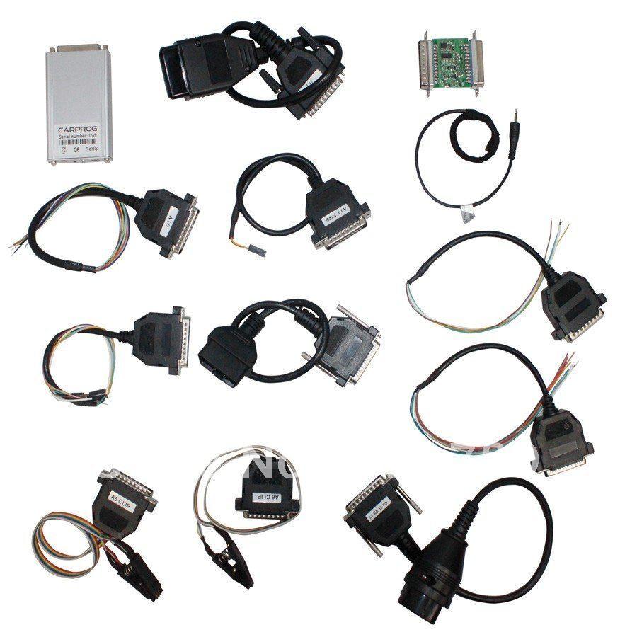 V10.05 Carprog Full Set ECU Chip Tuning for Car Radios Odometers Dashboards Immobilizers Auto Repair Airbag Reset