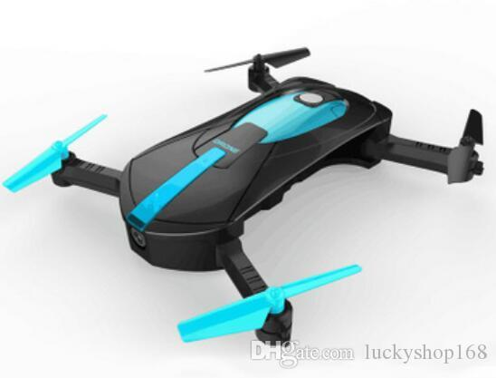 New 2.4G Portable JY018 Foldable Mini Selfie Drone Pocket Folding Quadcopter Altitude Hold Headless WIFI FPV 0.3MP Camera RC Helicopter Toys