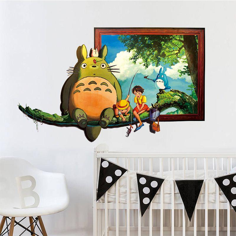 Use Wall Sticker Home Decor Properly Can Bring Big Changes To Your House.  Flower And Grass Wall Sticker Kids For The Spring, Blue And Yellow Wall  Sticker ...
