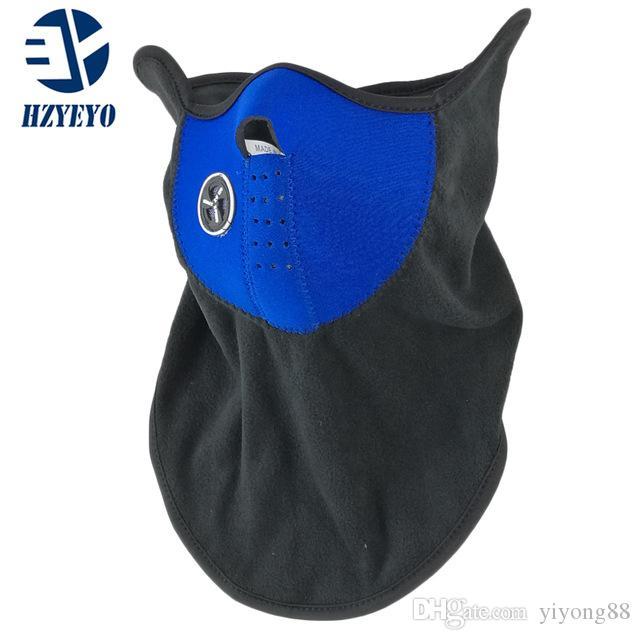 Бесплатная доставка неопрен шеи Теплый Половина маска Winter Veil для велосипедного маски мотоциклов Лыжная сноуборде велосипедов лица
