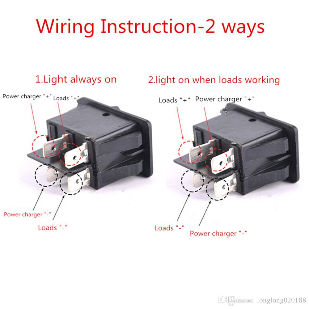 2020 Car Auto Boat Rocker 4pin On Off Toggle Spst Switch From Longlong020188 3 82 Dhgate Com