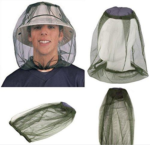 Mosquito Net Responsabile per il campeggio di caccia la pesca Prendere colpo miele Campo