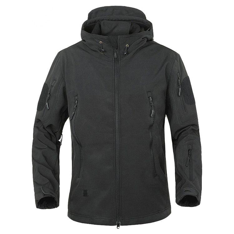 TAD Outdoor Bekleidung Winter-Haifisch-Haut-Militär Winddichtes Tactical Softshell Jacket Men Wasserdicht Armee Soft Shell Mantel Windjacke