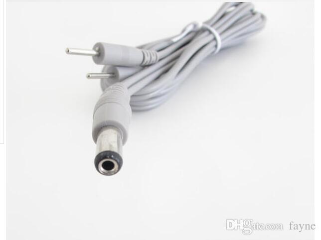 круглый DC 5.5 MM глава десятки замена провода Шнура - два разъема Pin для LK терапии машины (10 шт) 1.5 м