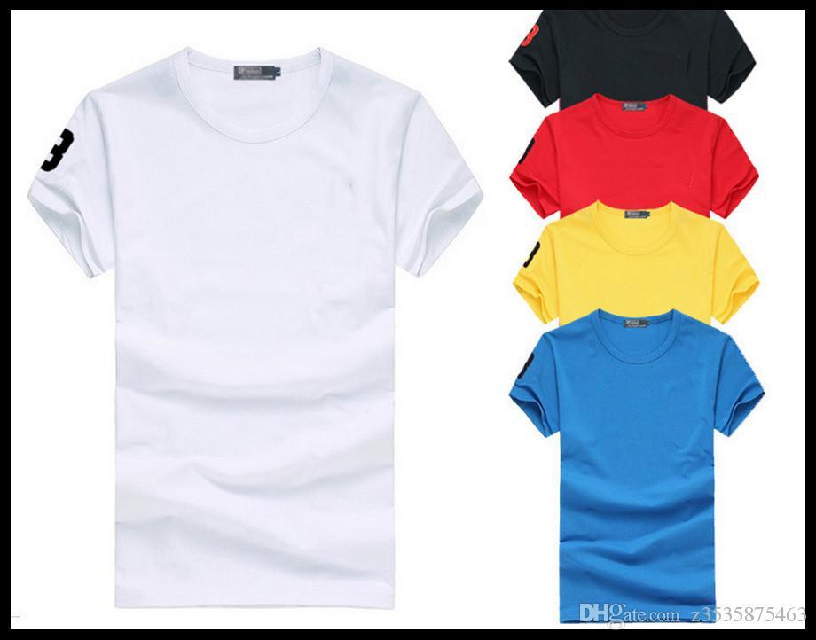 2017 fabricants vendant des hommes hommes col rond à manches courtes rendent hommes T-shirt non doublé vêtement supérieur de commerce extérieur de haute qualité
