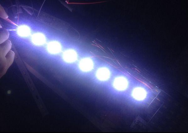 100 pcs SMD 3528 2835 LG de Alta Potência 1 W Cool White LED Diodo Luz Grânulos 100-110lm