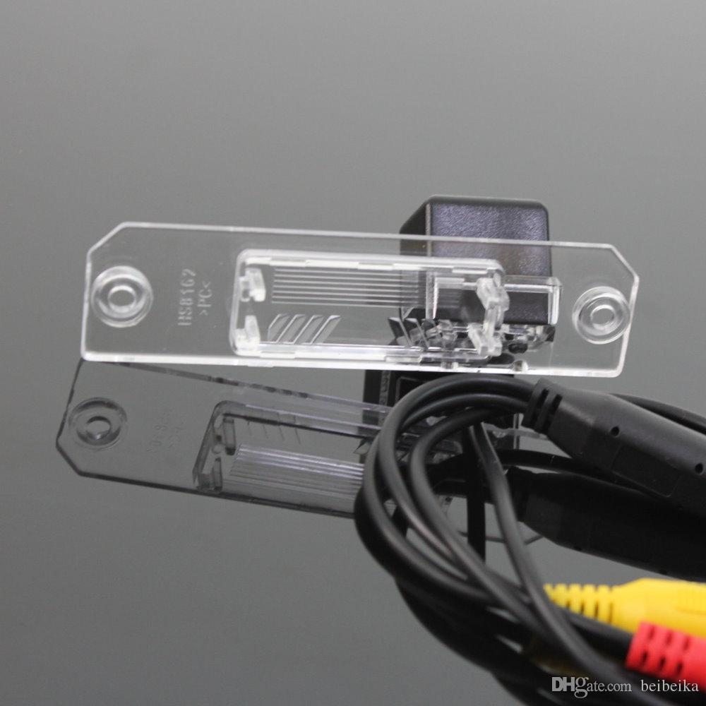 Car Parking Camera / Reverse Camera For Volkswagen VW Lupo Rear View Camera / License Plate Light OEM
