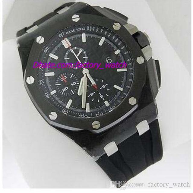 Nuevas llegadas de lujo Offshore Chrono 44mm au.oo.a002ca.01 Relojes de cuarzo para hombre Reloj de los hombres de calidad superior