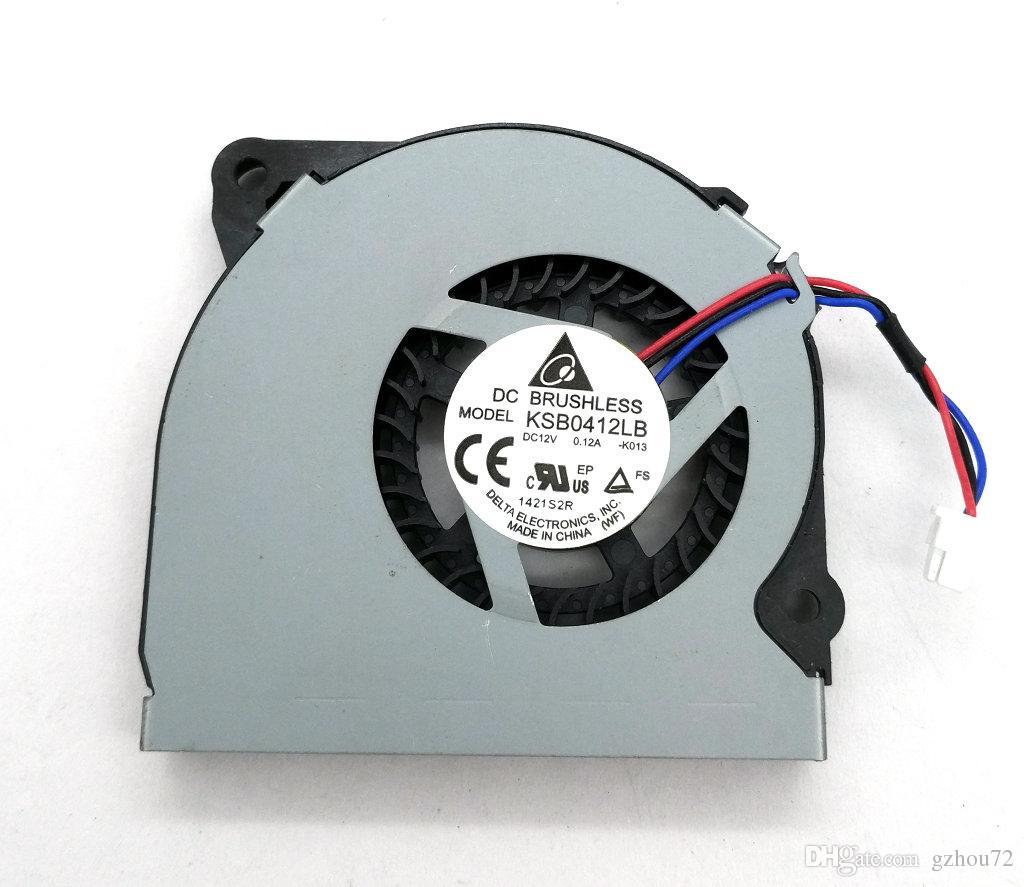 Original novo Delta KSB0412LB 50 * 7 MM 12 v 0.12a 5 cm de espessura 0.7 cm Laptop ventilador de refrigeração
