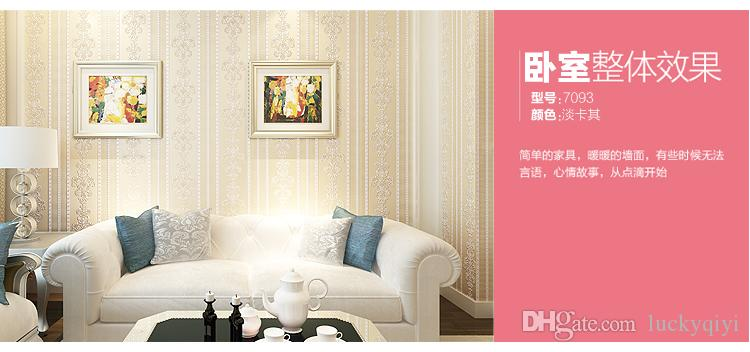 New HOT Classic fashion European-style non-woven wallpapers living ...