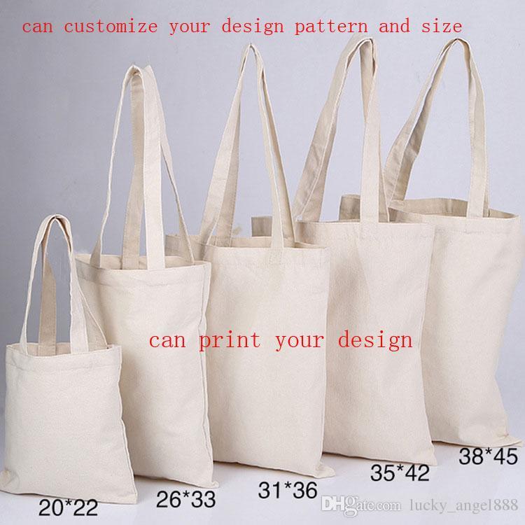 10an Canvas Bag Plain Tote Bags Environmental Shopping Bags Custom ...