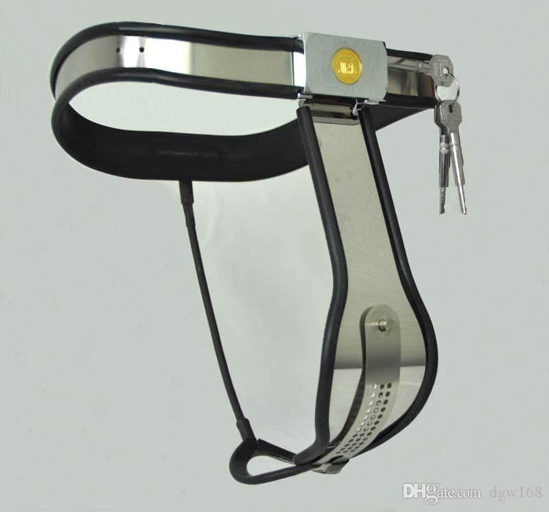 Dispositivos de castidad femenina Curva Cintura Cinturón de castidad Dispositivos de restricción ajustables DBSM Juguetes sexuales Bondage Castidad Pantalones Juguetes sexuales para mujeres