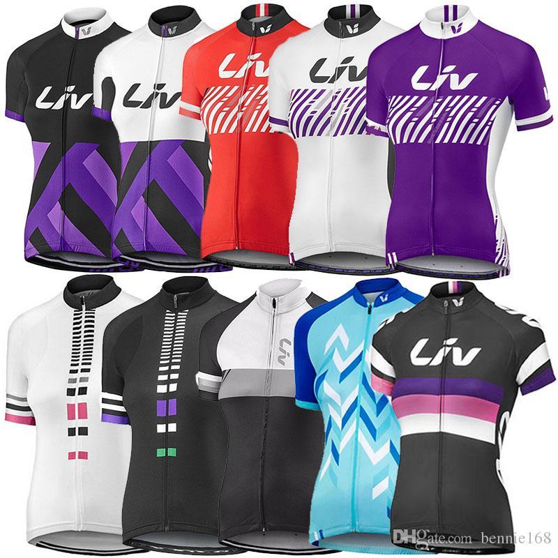 2017 NEW Women Short Sleeve Bike Shirt Bicycle Clothing Cycling Jersey XS-4XL