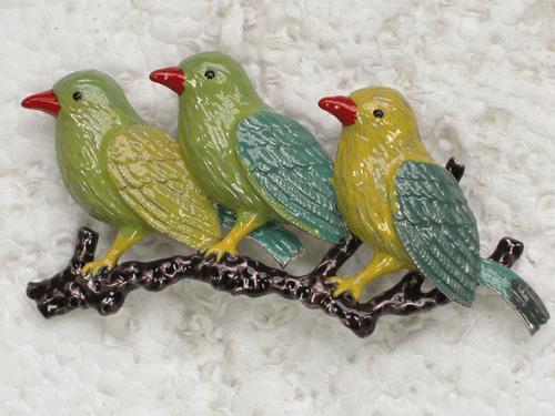 Spilla pin spilla all'ingrosso di moda smalto uccello pin C101456