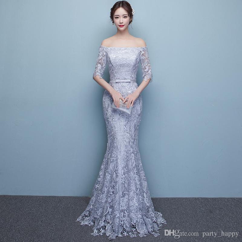 Mermaid Prom Dresses Occasion Long