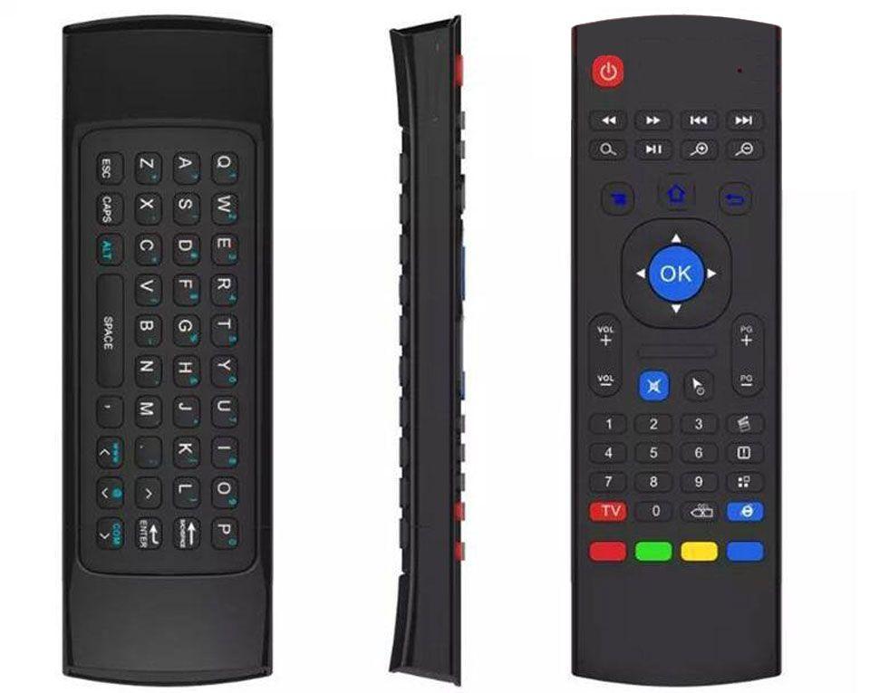 10pcs X8 M8S T2 T3 마이크 없음 2.4GHz 무선 자이로 스코프 키보드 공기 마우스 Remoter G- 센서 자이로 스코프 MXQ STB 안 드 로이드 TV 상자