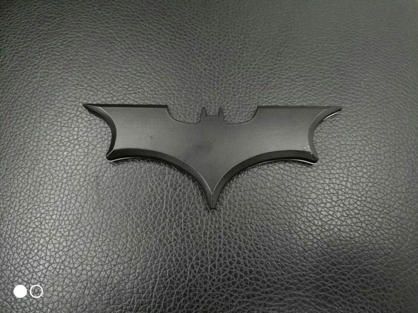 1pcs Car styling 3D Cool Metal Bat Auto Logo Car Stickers Metal Batman Badge Emblem Tail Decal Motorcycle Vehicles Car Accessories