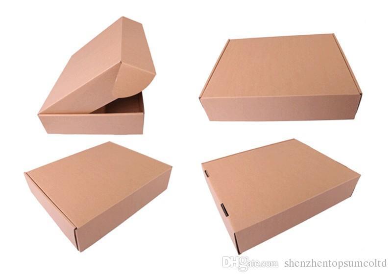 10 * 21.5 * 6 cm Café Tuercas Almacenamiento de Alimentos Caja de Paquete de Papel de Kraft Marrón Con Ventana Transparente BRICOLAJE Regalo de la Fiesta Paquete de Artesanía Bolsa de Bolsa