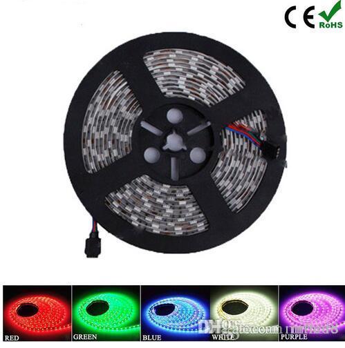 بيع المصنع LED قطاع الخفيفة 3528/5050 SMD RGB / أبيض / دافئ / أخضر / أحمر مقاوم للماء / غير مقاوم للماء