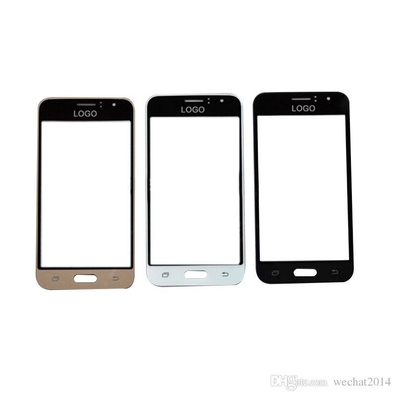 100PCS vorderer äußerer Touch Screen Glaswiedereinbau für Samsung-Galaxie E5 E7 J3 J5 J7 geben DHL frei