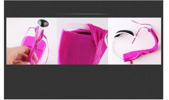 Underwear remote control vibrator