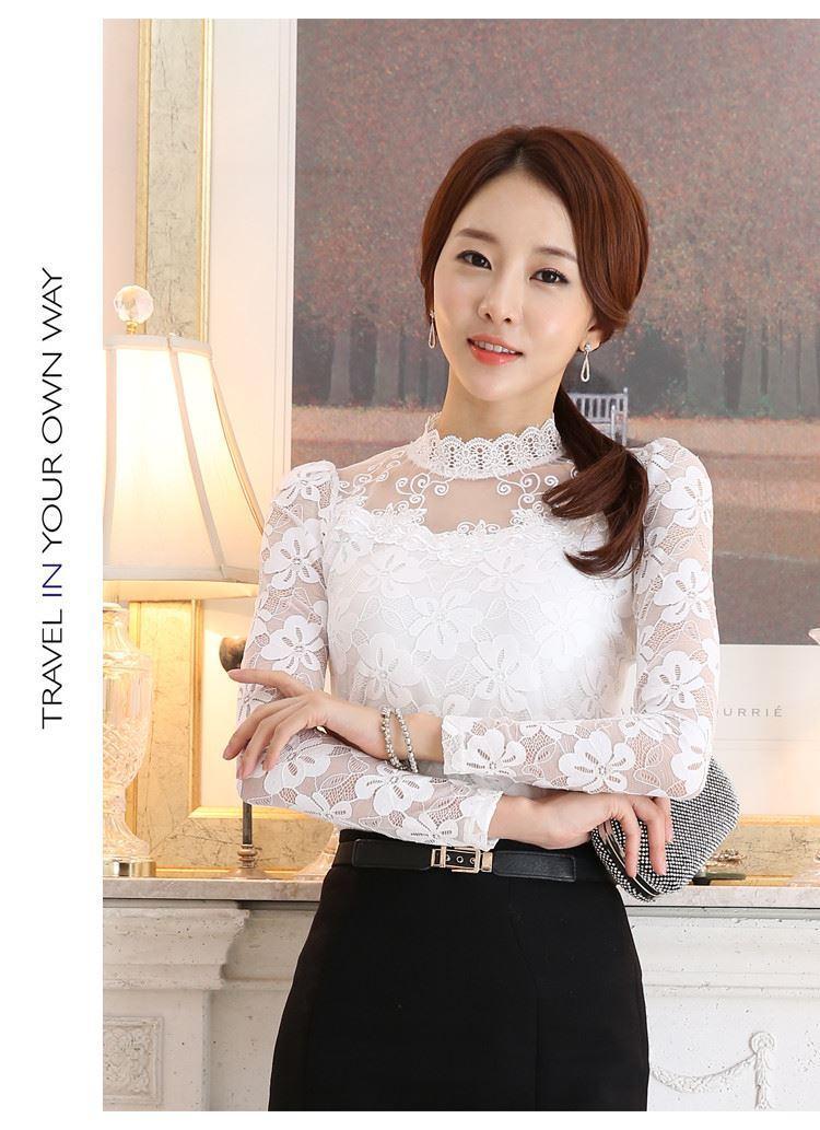 lace blouse 515