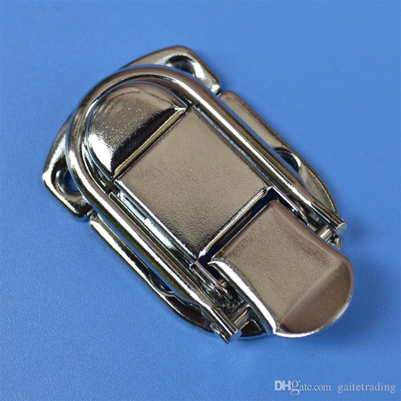 free shipping metal hasp bag hardware part air box buckle tool case box lock equipment clamp handmade hardware fastener