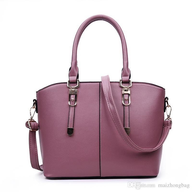 PU shell sac dame sac à main l'épaule de connaissement épaule inclinée sac 2017 femmes sac mode femmes sacs