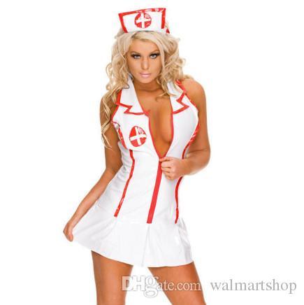 Enfermeira sexy Personalizado deguisement Adulto Empregada Doméstica Lingerie Sexy Role Play Lingerie Erótica Sexy Underwear Jogos Cosplay ouc1003