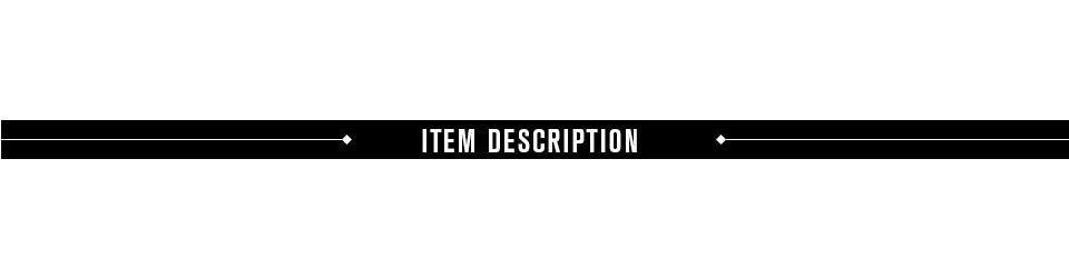 romacci item description