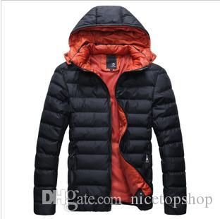 3014 # Yeni Moda erkek Kış Sıcak Ceket Rahat Ayrılabilir kap kalın sıcak İnce 4 Renkler Ceket Dış Giyim
