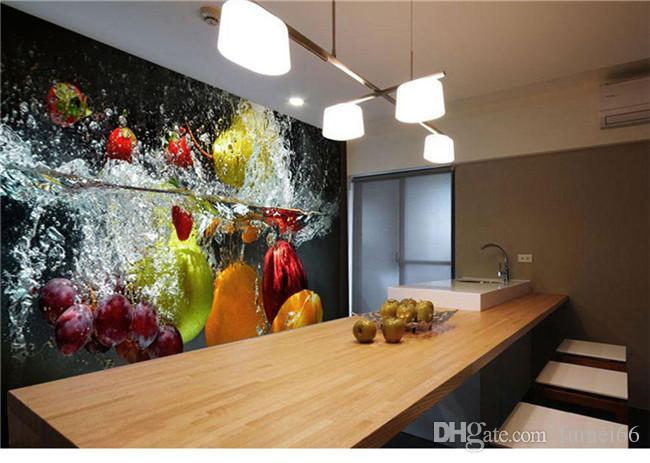 Großhandel Großhandel Obst Wandbilder 3d Wand Foto Wandbilder Tapete ...
