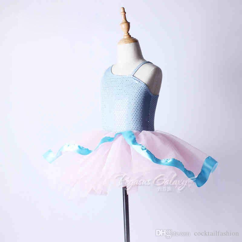Saia de balé Para A Menina New's Summer Tutu Profissão Custom Made Desgaste Da Dança Adulto Competição Crianças Trajes de Dança de Ballet