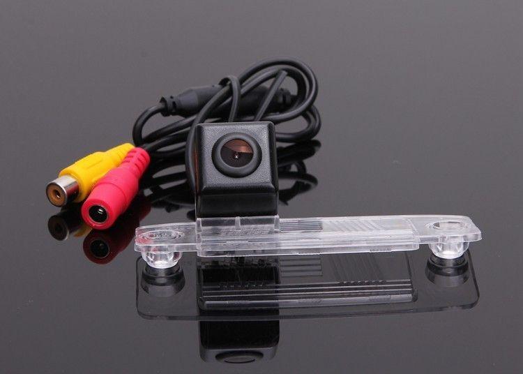 Câmera reversa da câmera do estacionamento do carro / vista de carro para Chrysler 300C 2011 ~ 2014 OEM do CCD RCA NTST PAL / luz da placa de licença