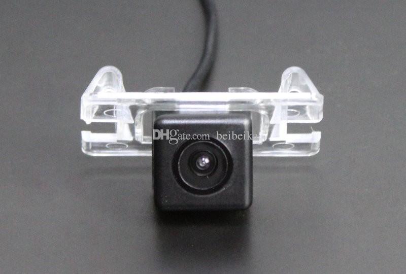 Автомобильная камера заднего вида для Mitsubishi Galant Reverse Camera / HD CCD RCA NTST PAL / Reverse Hole OEM
