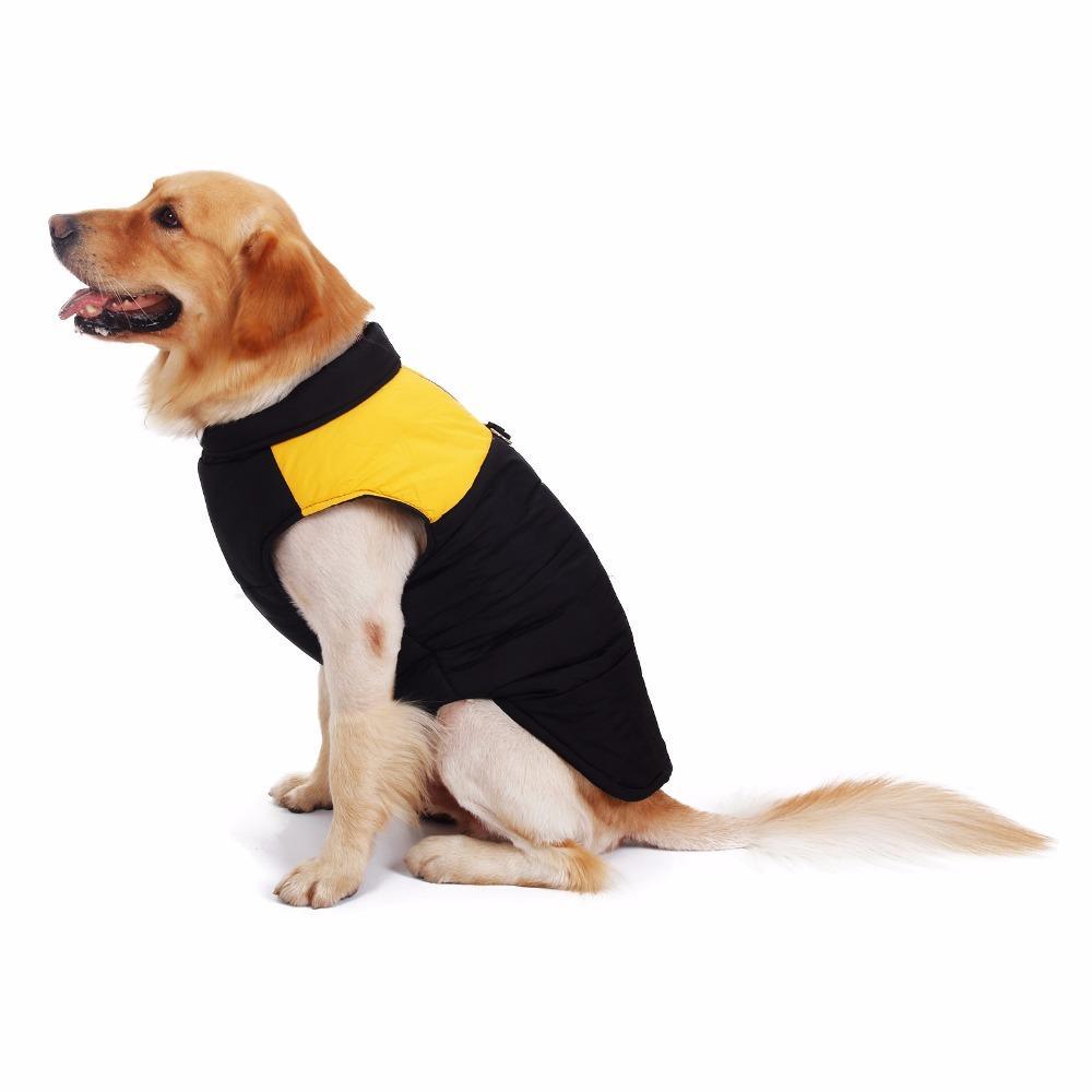 الشحن مجانا الكلب الملابس الشتوية الملابس كلب كبير سترة دافئة الملابس الحيوانات الأليفة الملابس عالية الجودة الملابس ل كلب أليف اللوازم