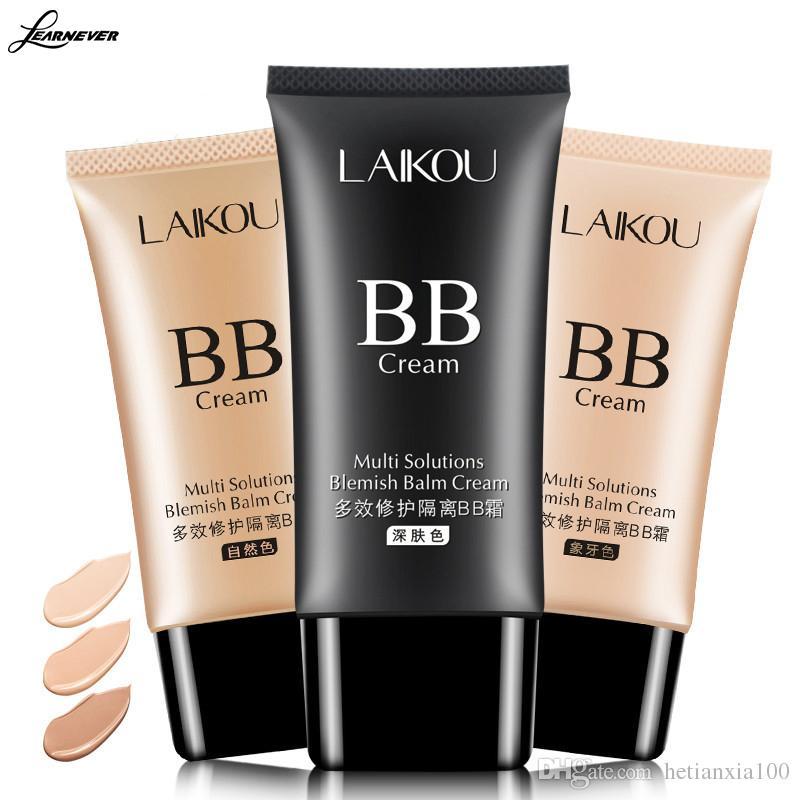 العلامة التجارية الجديدة الكورية BB كريم الوجه مؤسسة ماكياج العناية بالبشرة المكياج المخفي ترطيب السائل تبييض مستحضرات التجميل 50ML